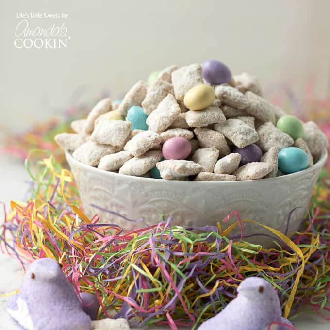 Colorful Easter muddy buddies