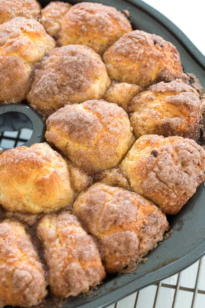 Try this monkey bread recipe made from scratch and give cinnamon rolls a run for their money!