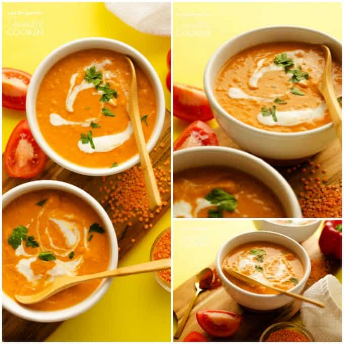 Creamy Romesco Soup
