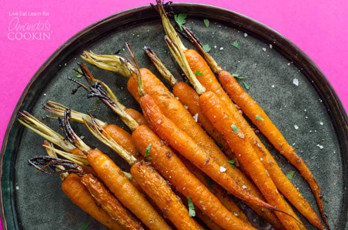 Balsamic Carrots in the slow cooker