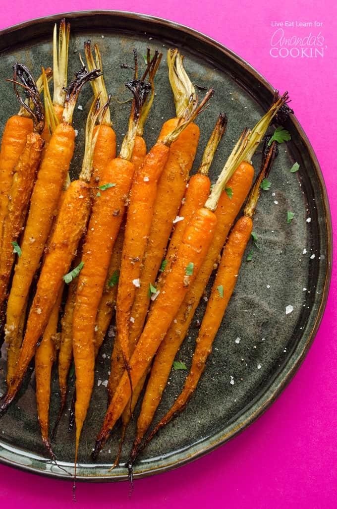 Slow Cooker Balsamic Carrots