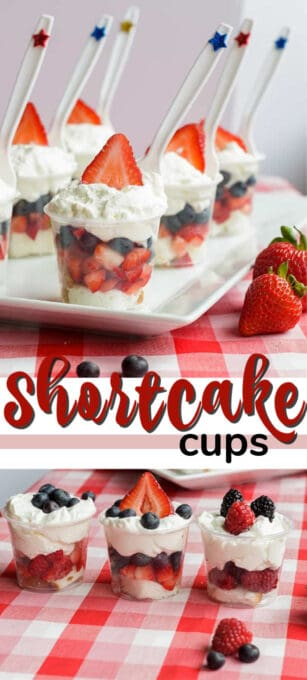 mini shortcake cups pin image