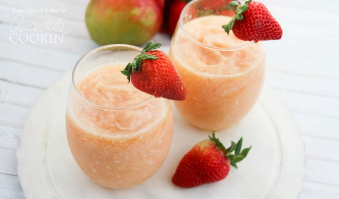 Wine slushies will cool you off on a hot summer day!