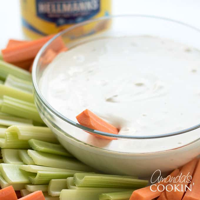 Creamy Onion Dip from onion soup mix