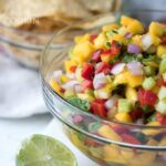 Mango Salsa: full of fresh ingredients