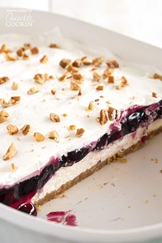 Blueberry Lush A One Pan Layered Dessert Perfect For Summer