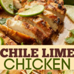 chile lime chicken pin image