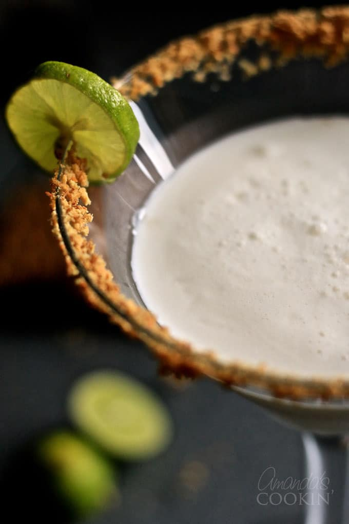 Yes, Key Lime Pie Martinis are actually a thing, my friend.