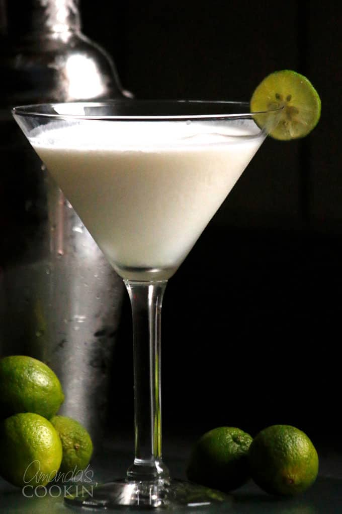 If you love Key Lime Pie, this Key Lime Pie Martini, is everything you could ever want in a cocktail.