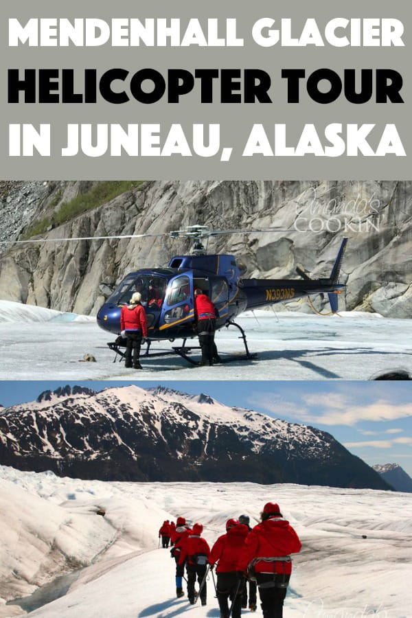 A group of people getting into helicopter in alaska