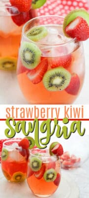 strawberry kiwi sangria pin image