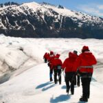 Helicopter tour of the Mendenhall Glacier