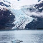 glacier in Glacier Bay National Park