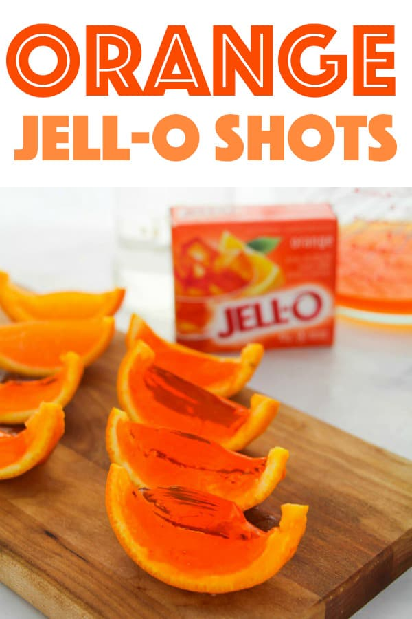 Orange Jell-O Shots
