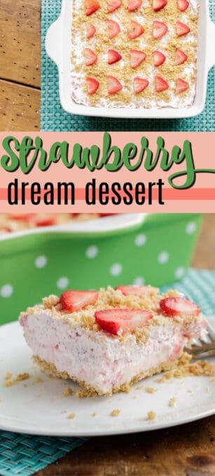 strawberry dream dessert pin image