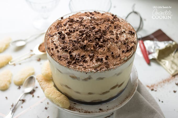 Tiramisu trifle recipe