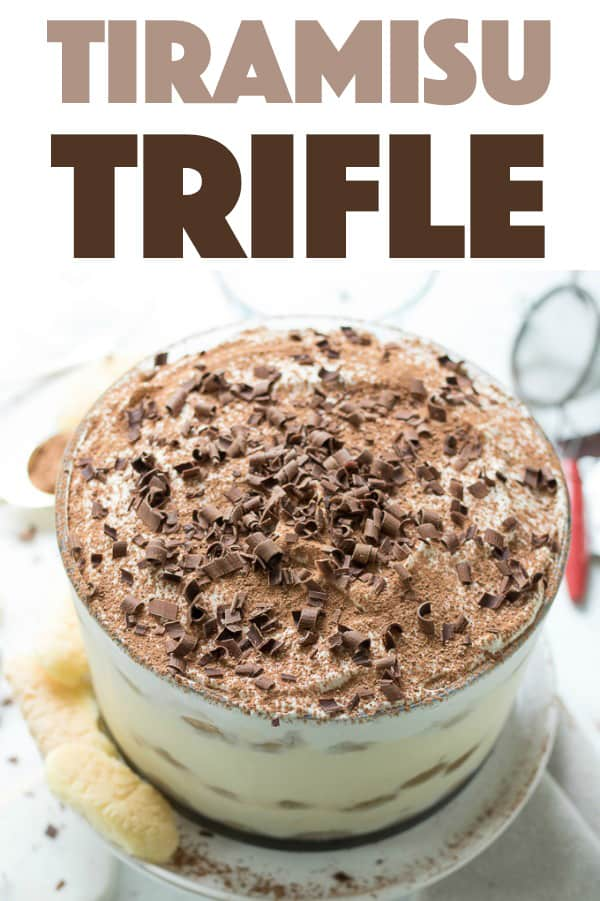 Tiramisu Trifle A Sophisticated And Delicious Trifle Dessert