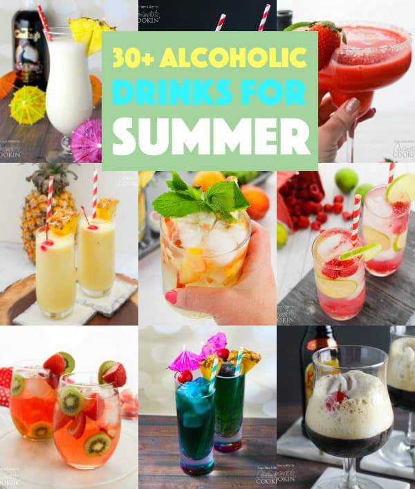 30 Alcoholic Drinks for Summer Round Up