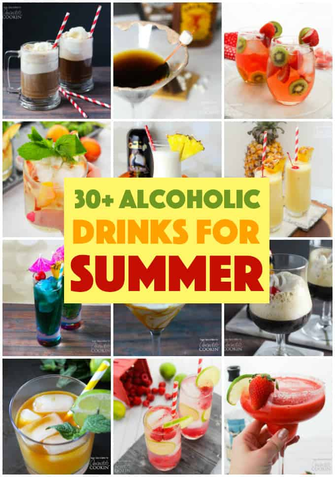 Alcoholic Drinks for Summer