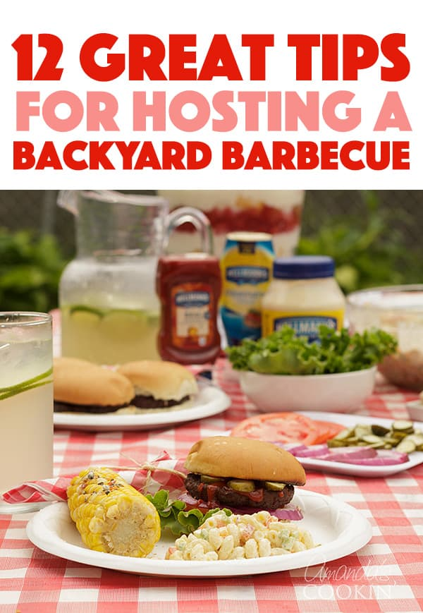 12 tips for a backyard barbecue
