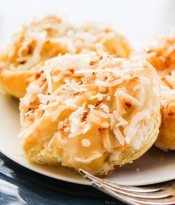 coconut pastries