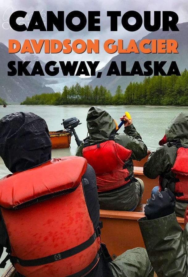 canoe tour davidson glacier skagway