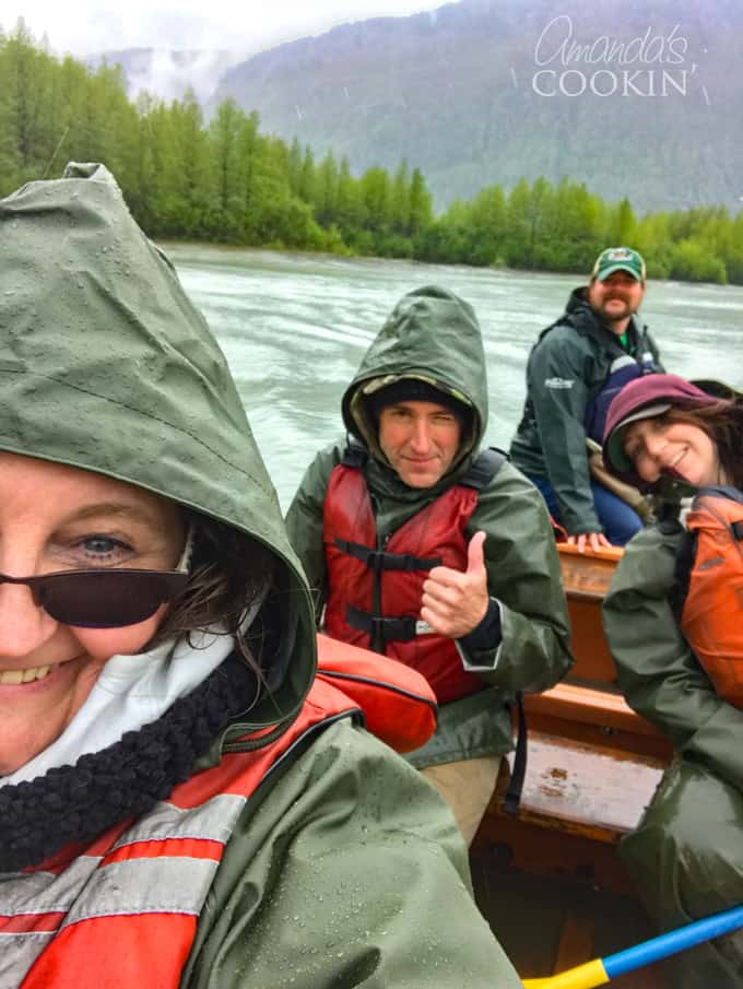 in the voyager canoe, alaska