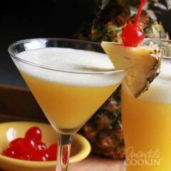 Rum Cruiser Cocktail - summer rum martini