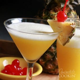 Rum Cruiser Cocktail - summer rum martini