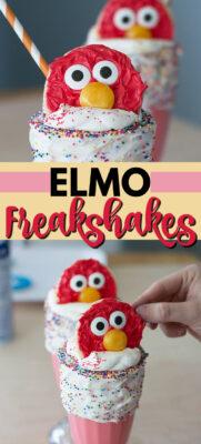 elmo freakshakes pin image
