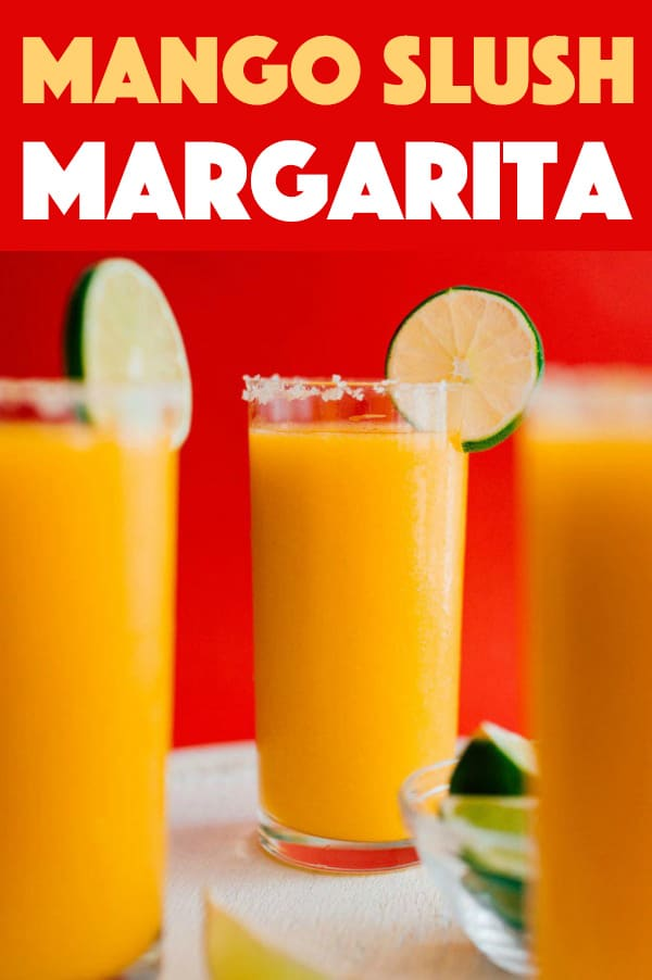 Mango Margarita Slush Recipe For Summer