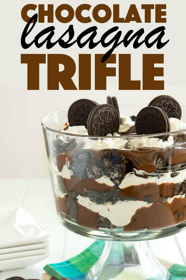Chocolate Lasagna Trifle!
