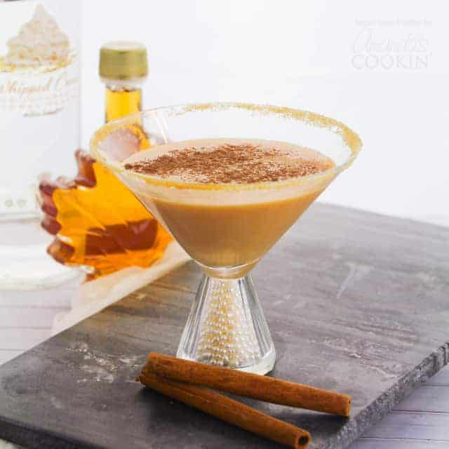pumpkin martini