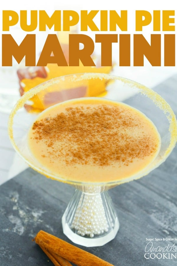 Pumpkin Pie Martini
