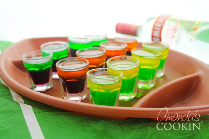 football team jello shots
