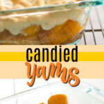 candied yams pin image