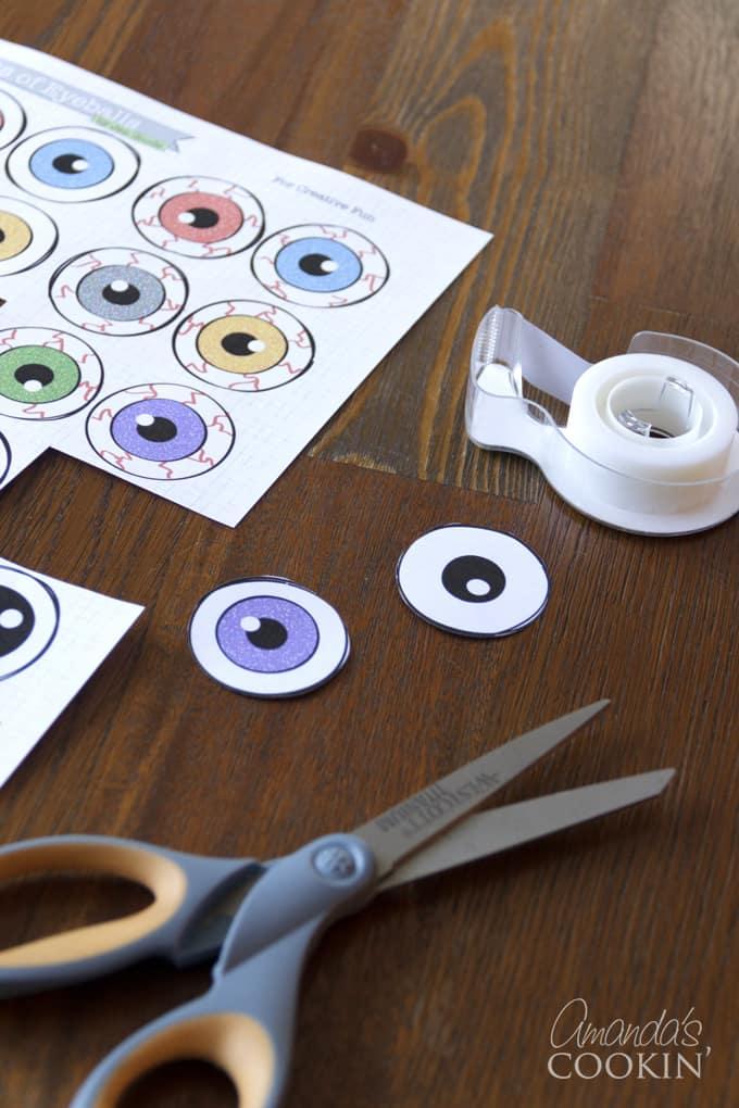 printable eyeballs
