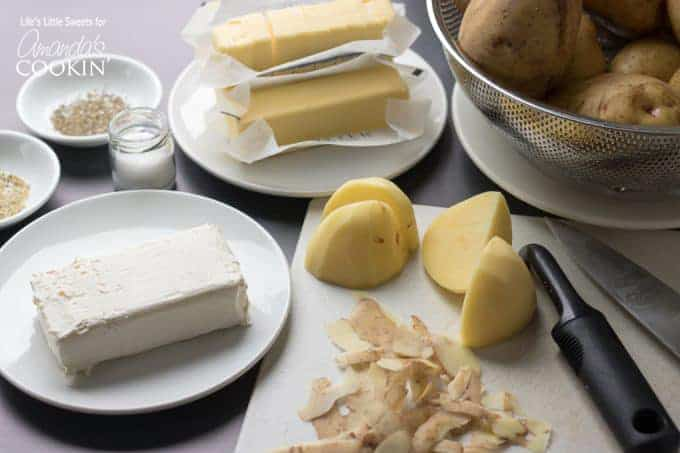 Creamy Traditional Mashed Potatoes ingredients