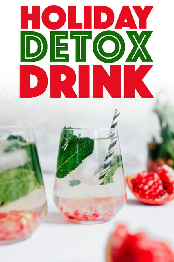 Holiday Detox Drink