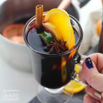 Mulled wine makes the perfect drink great for Thanksgiving, Christmas or any holiday party. This drink can be served cold or warm.