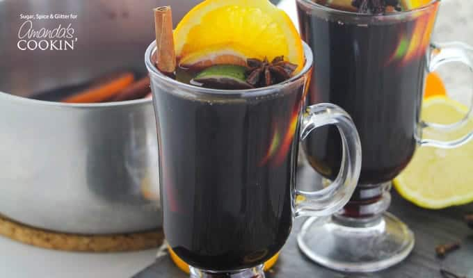 Classic mulled wine recipe