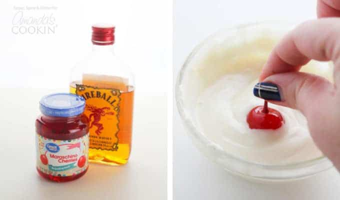 How to make spiked cherries step 1