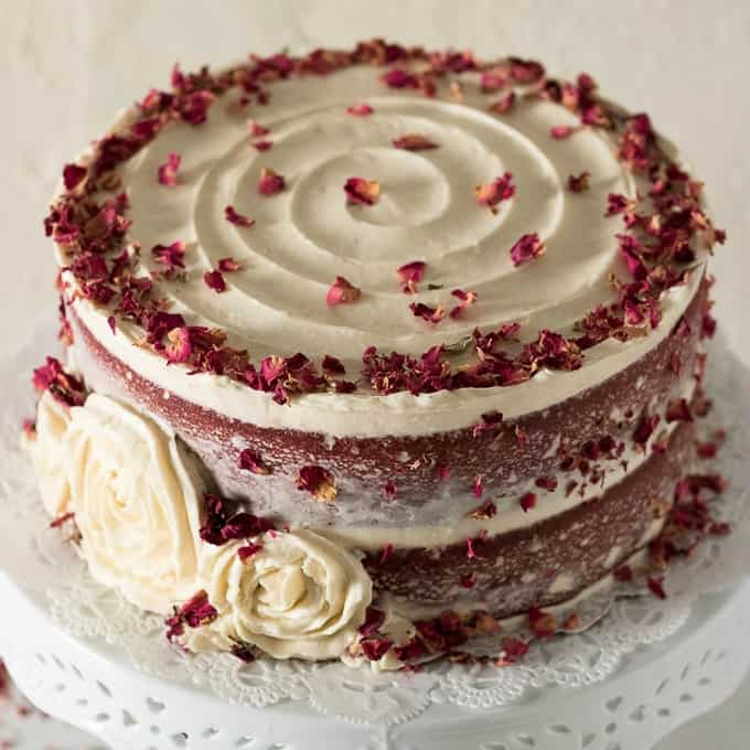 Brilliant Red Velvet Cake A Beautiful Red Velvet Cake To Wow Your Guests Personalised Birthday Cards Rectzonderlifede
