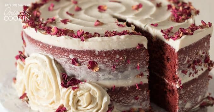 Phenomenal Red Velvet Cake A Beautiful Red Velvet Cake To Wow Your Guests Personalised Birthday Cards Rectzonderlifede