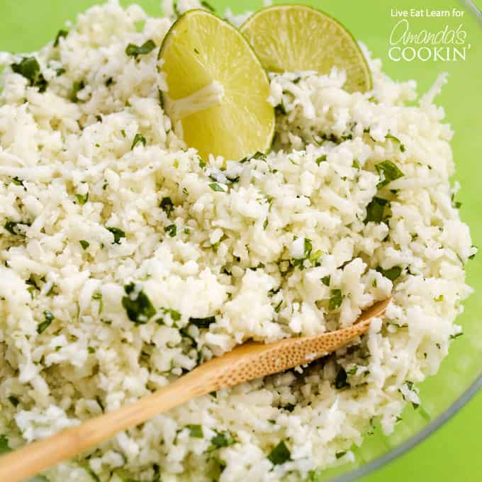 Copycat Cauliflower Chipotle Rice