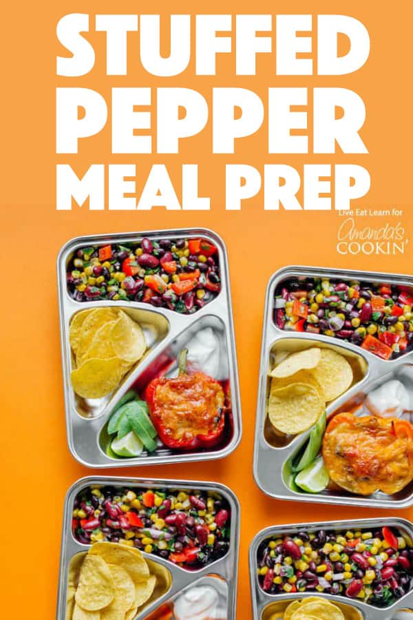 Stuffed Pepper Meal Prep Boxes