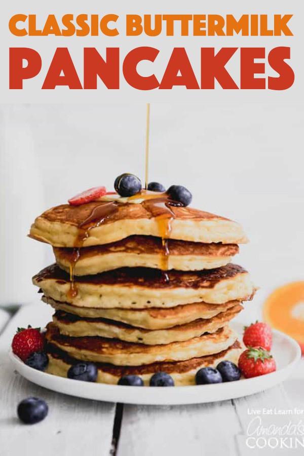 Classic Buttermilk Pancakes Recipe