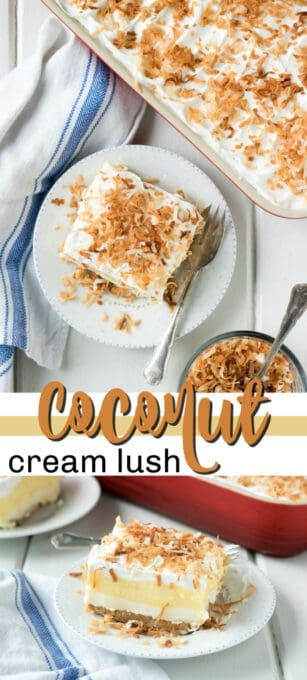 coconut cream lush pin image
