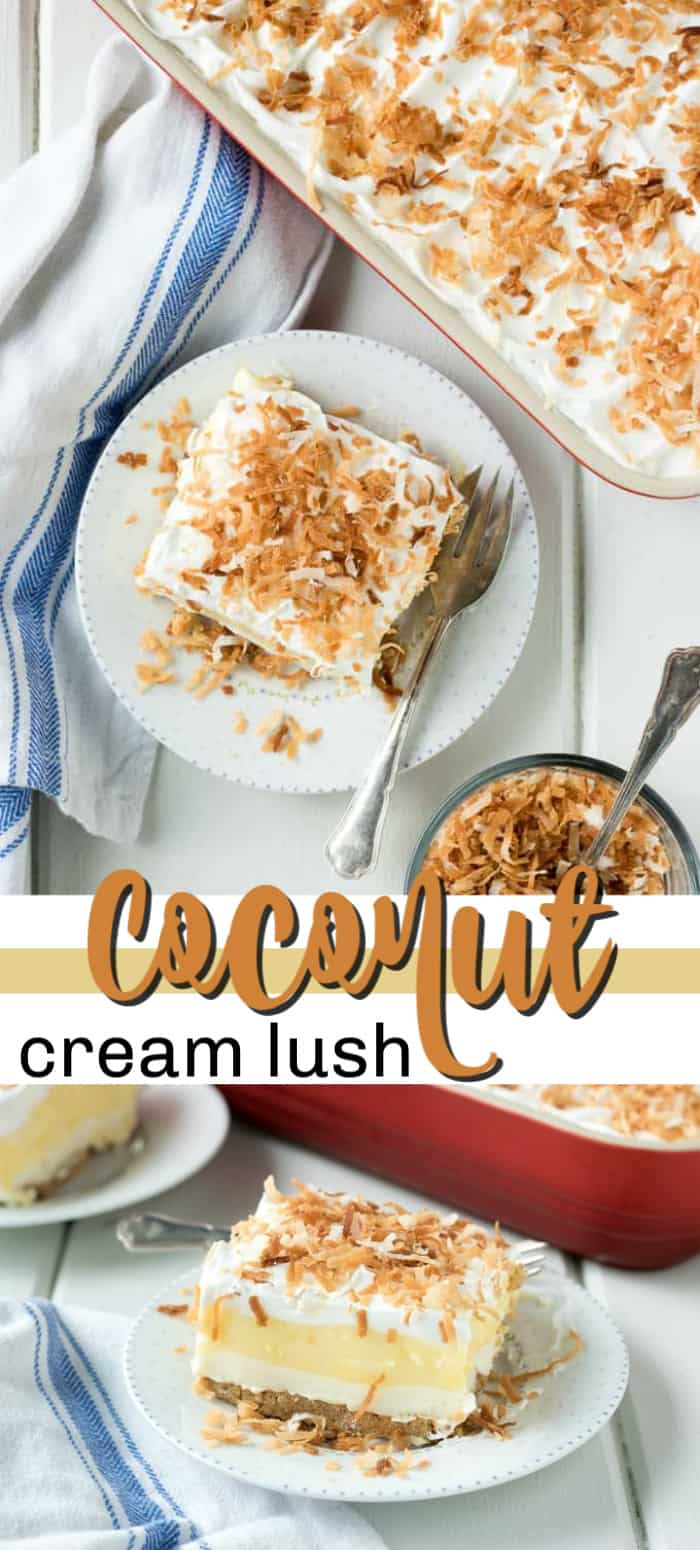 coconut cream lush pin image