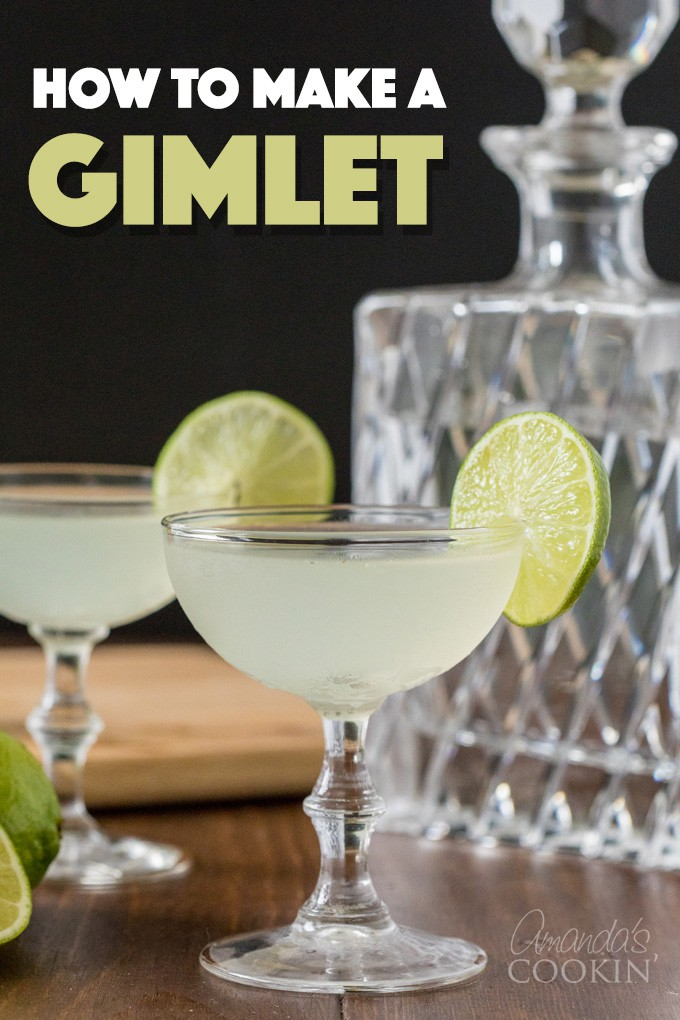 How to Make a Gimlet Cocktail
